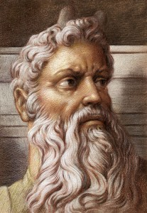 Moses pastel