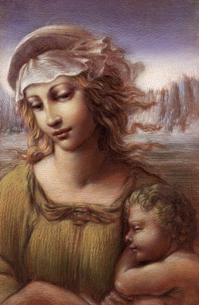 Wenner. Piccola Madonna detail.
