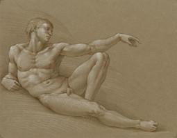 Adam, drawing