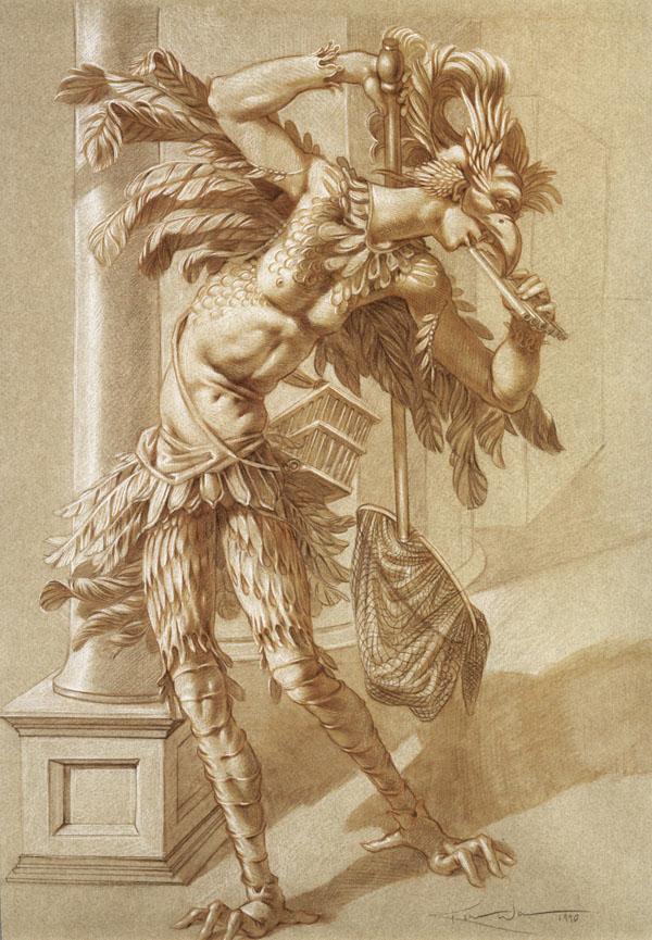 Papageno drawing