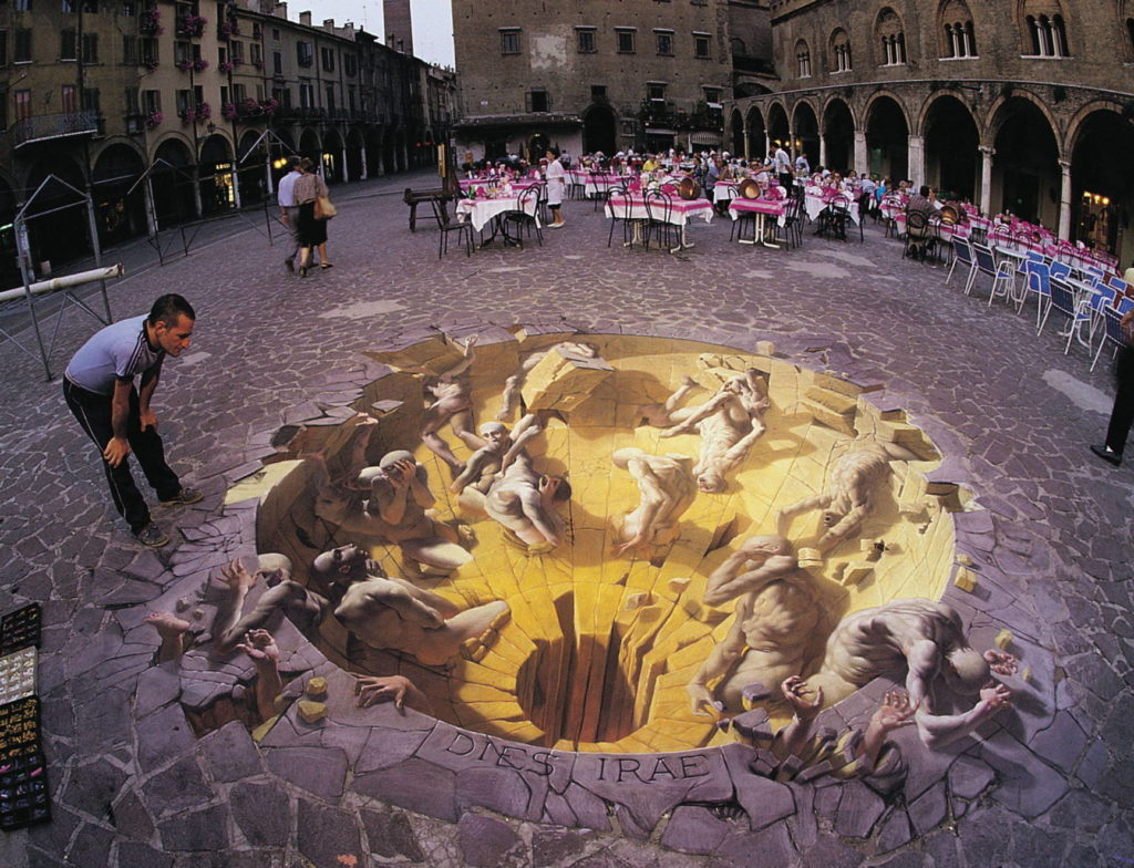 Kurt Wenner pavement art, 3d pavement art, street painting
