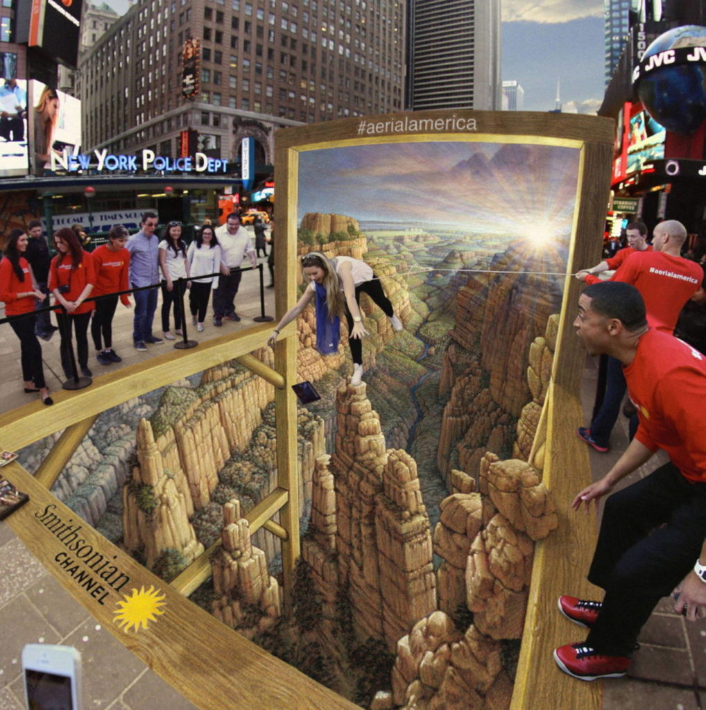 3D pavement art street painting street art