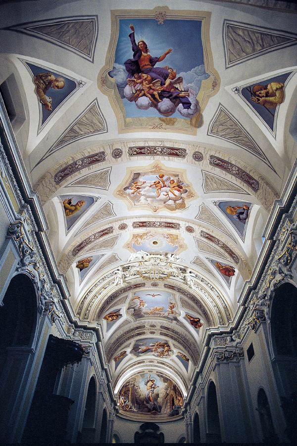 Lake Como Kurt Wenner ceiling sacred art