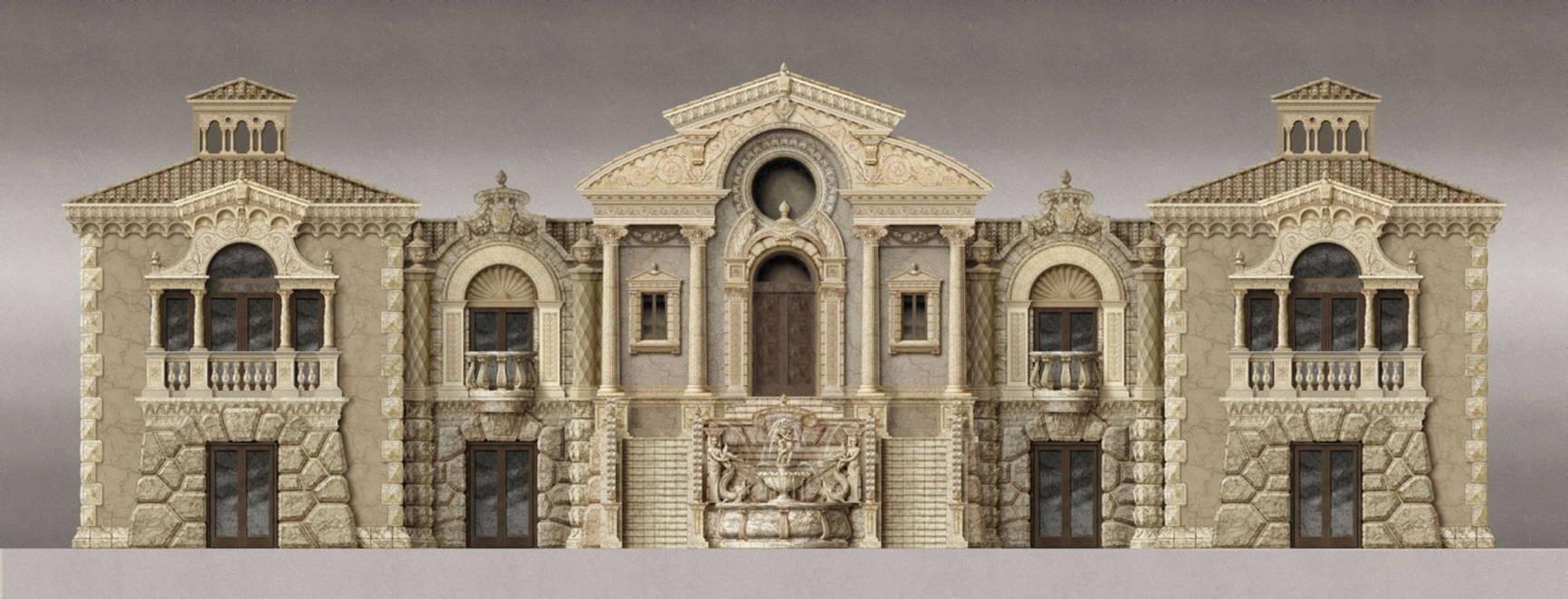 Architecture & architectural design by Kurt Wenner