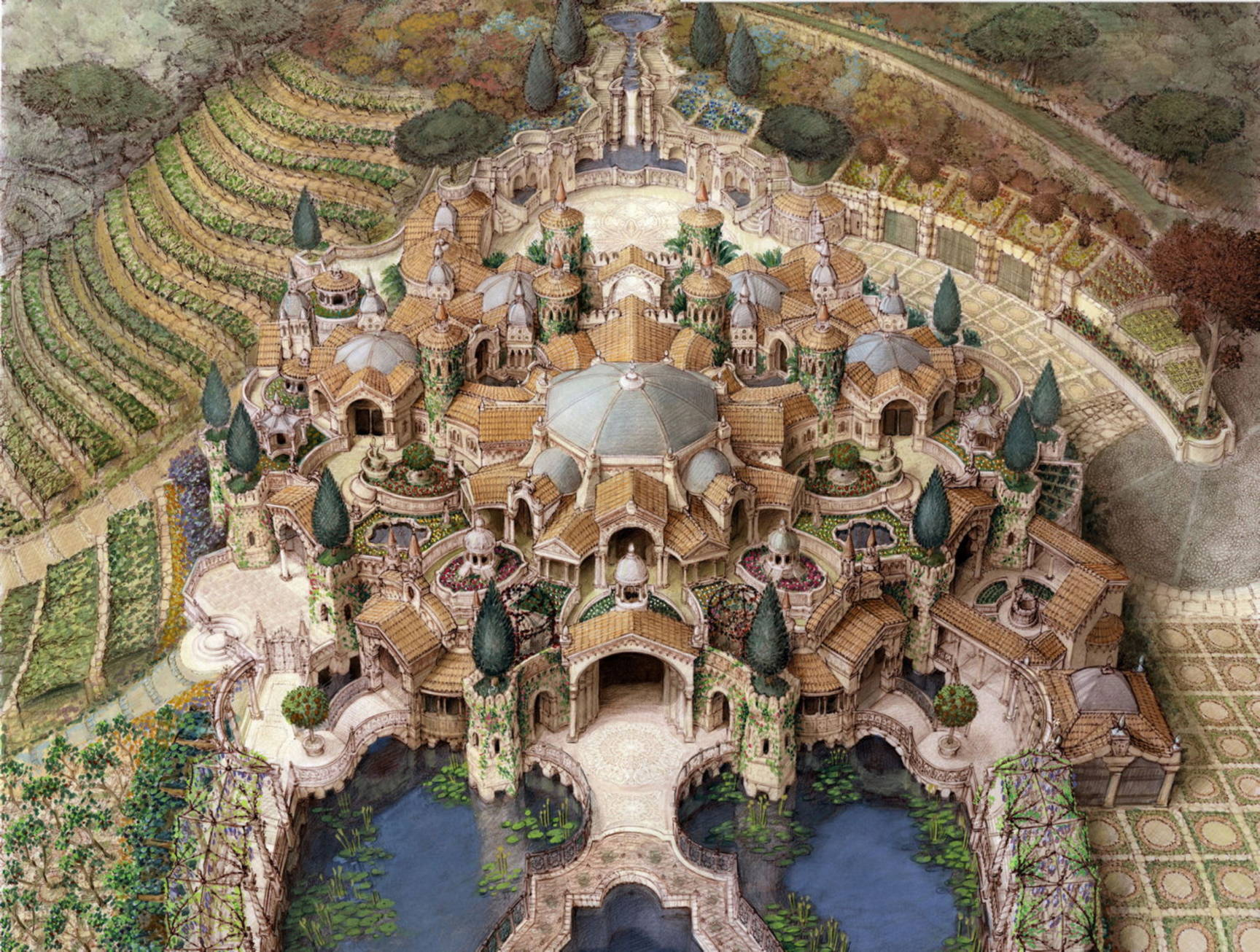 Architecture & architectural design by Kurt Wenner