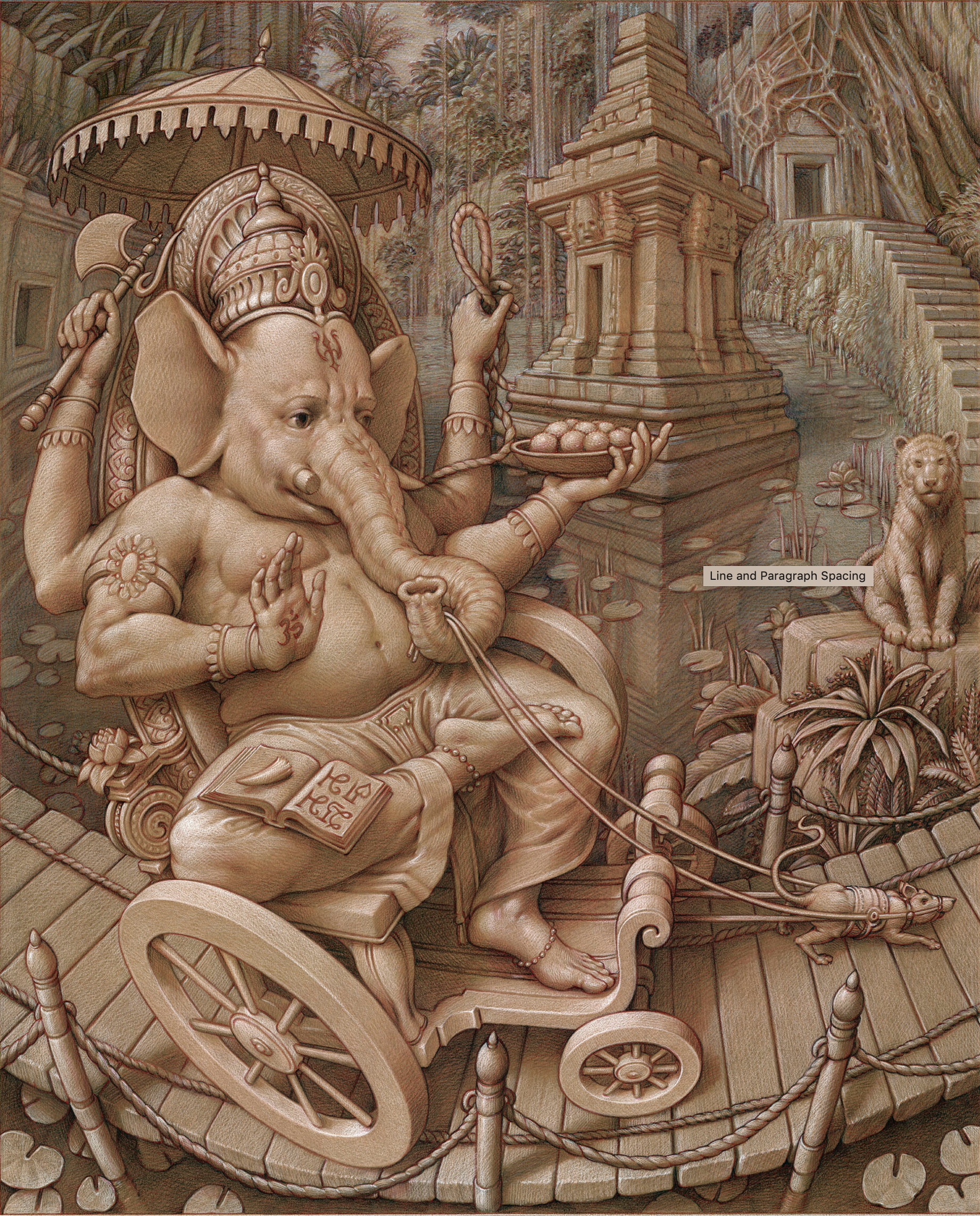 Drawing & pastel art by Kurt Wenner