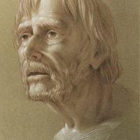 Kurt Wenner drawing & pastel