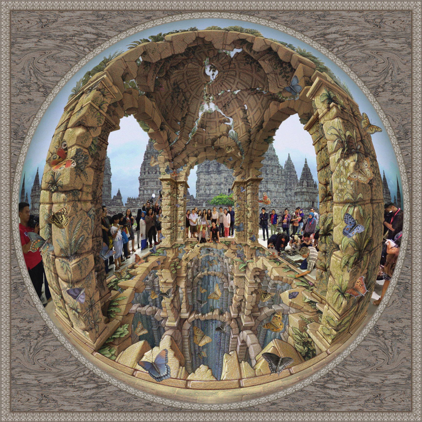 Kurt Wenner Museum of Wonders 3D illusion 3d art