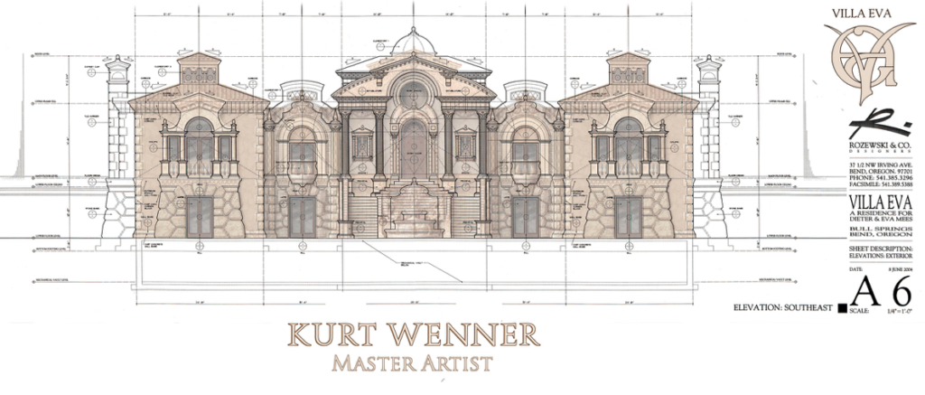 Architectural design by Kurt Wenner
