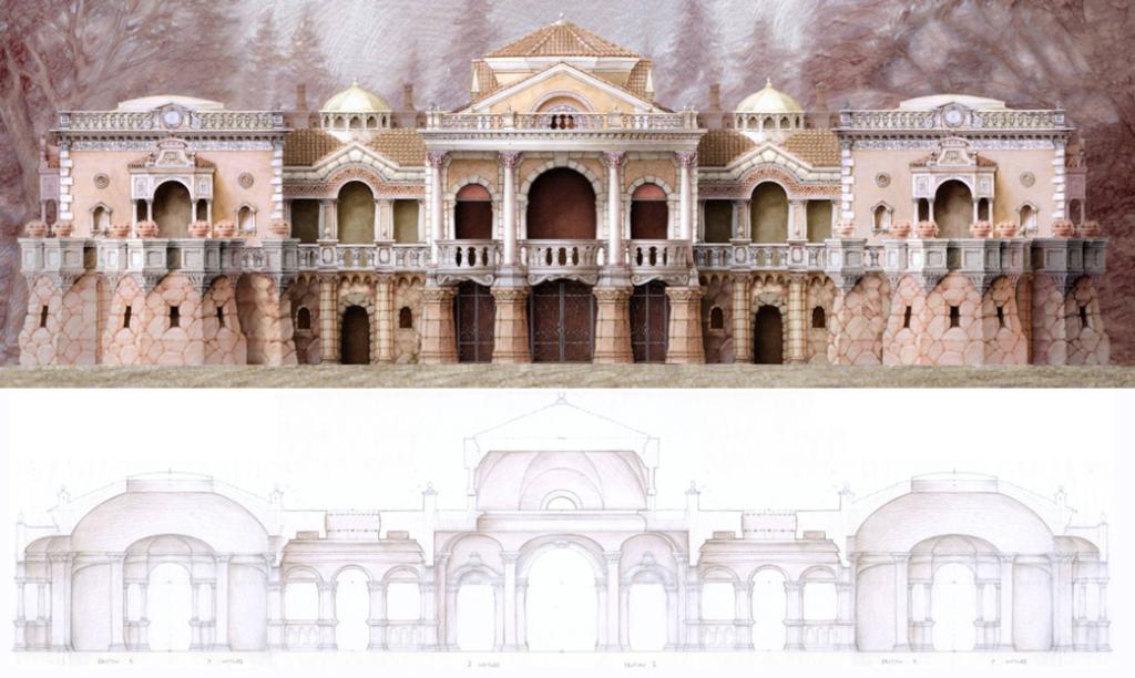 Architectural design by Kurt Wenner