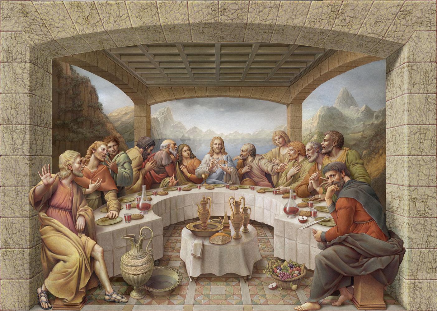 Sacred art religious art by Kurt Wenner