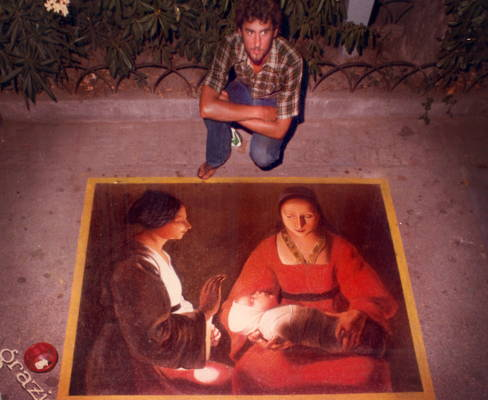 History of Chalk Art