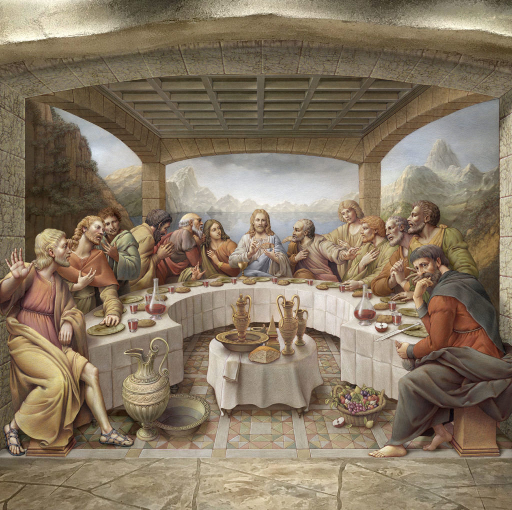 Last Supper by Kurt Wenner