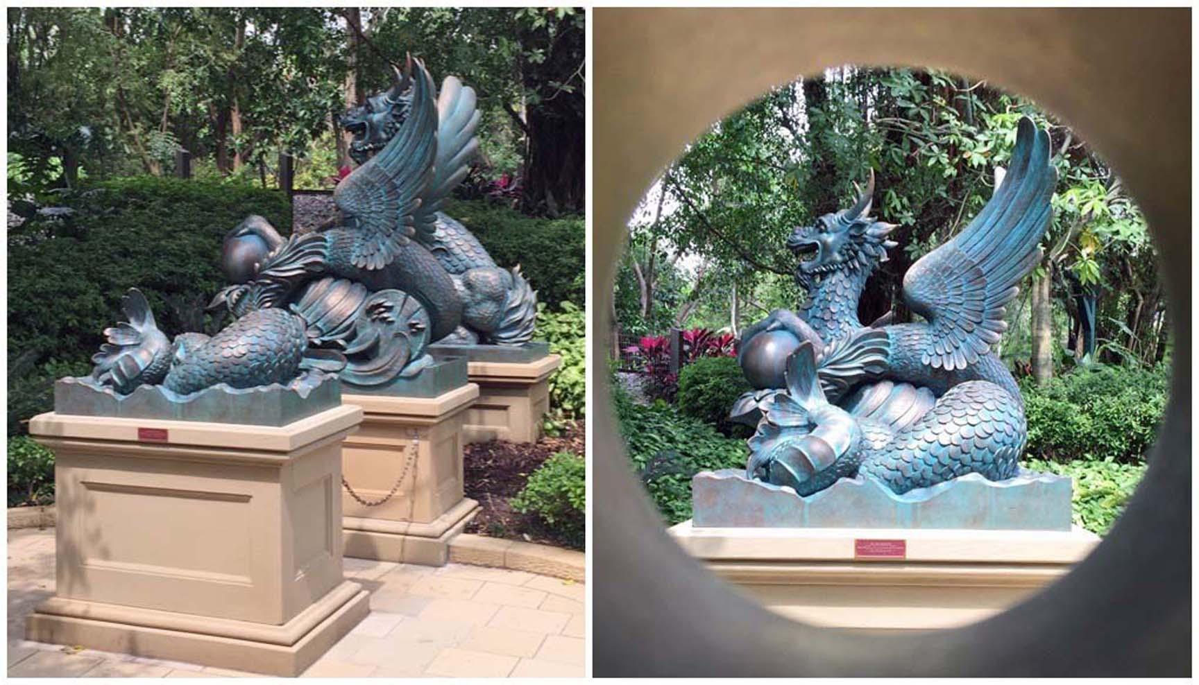 Sea Dragon Sculptures