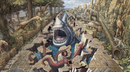 Lost World Megladon Chalk Festival 2019
